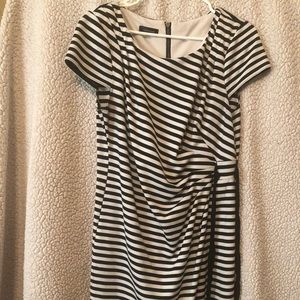 Precious black and white dress